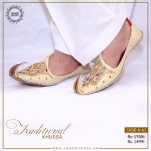 Men Traditional Khussa in Pakistan